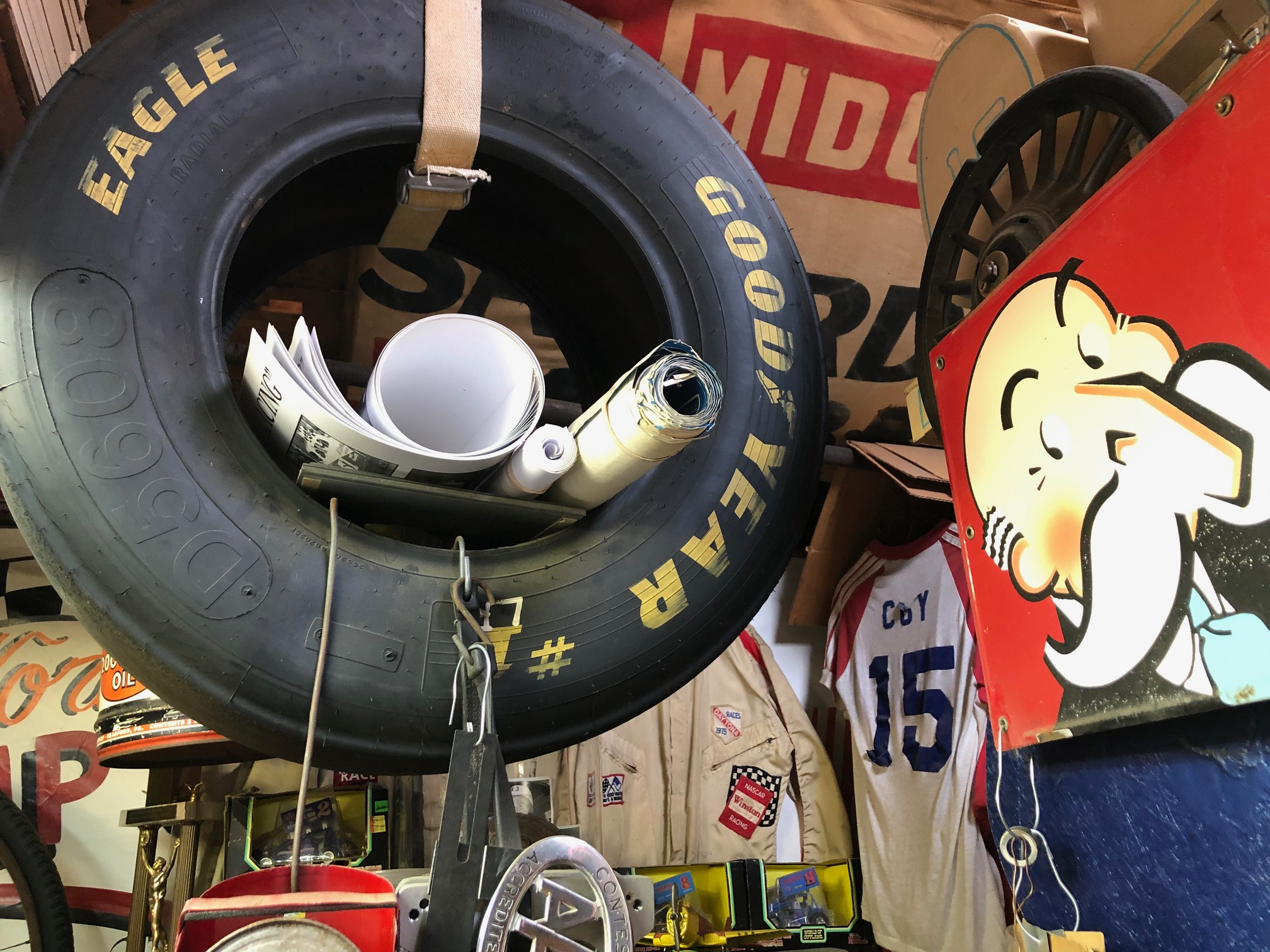 Himes Museum tire