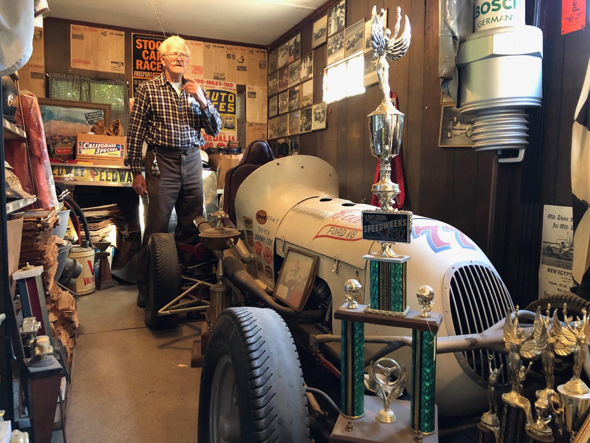 Himes Museum vintage race car