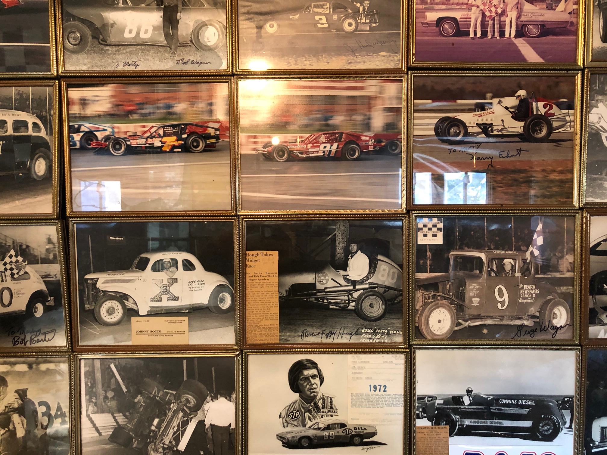 Himes Museum photo wall