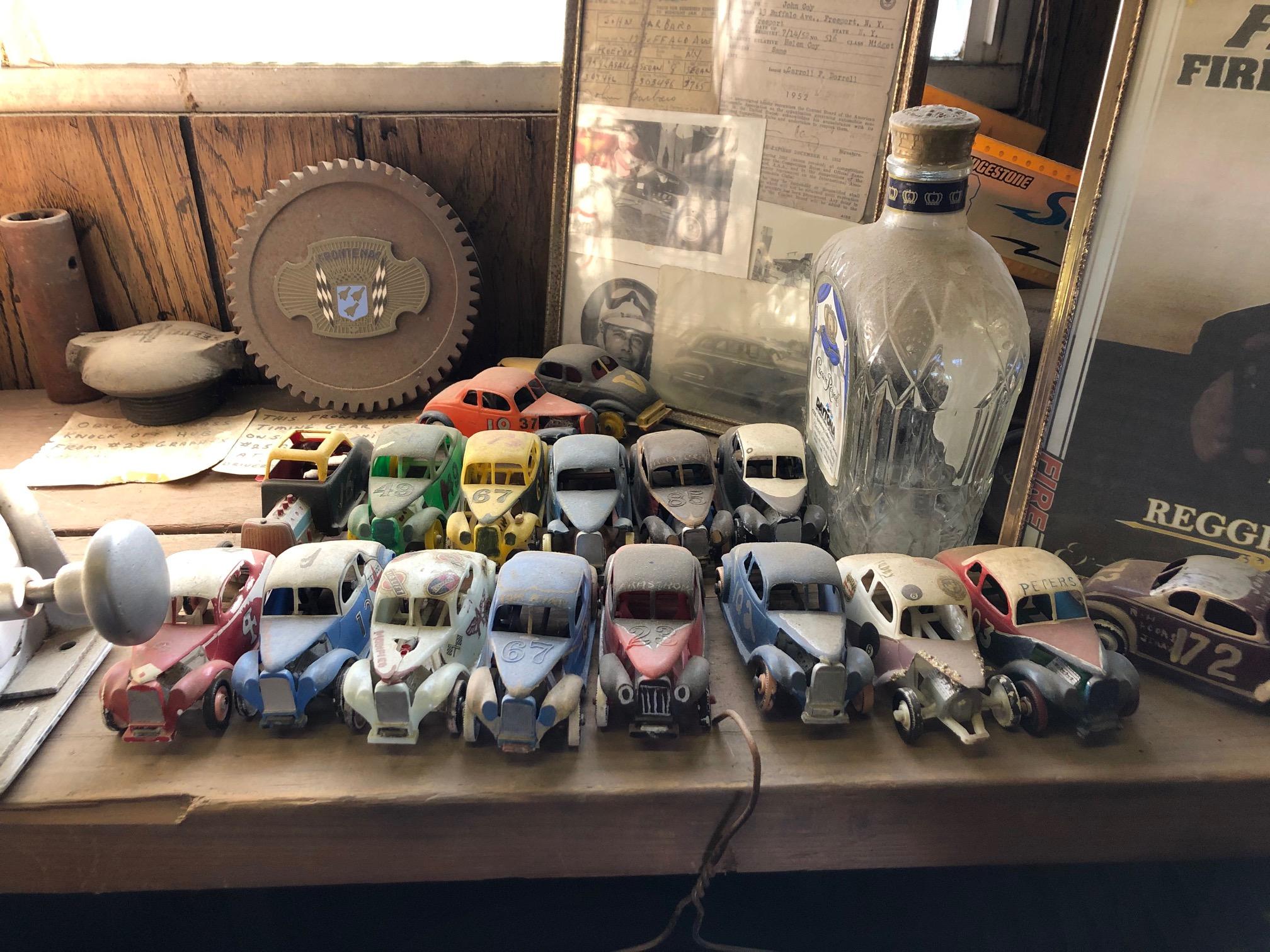 Himes Museum vintage race car models