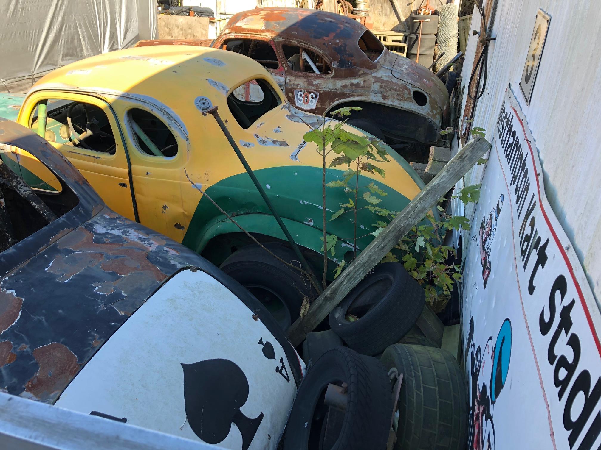 Himes Museum vintage race cars