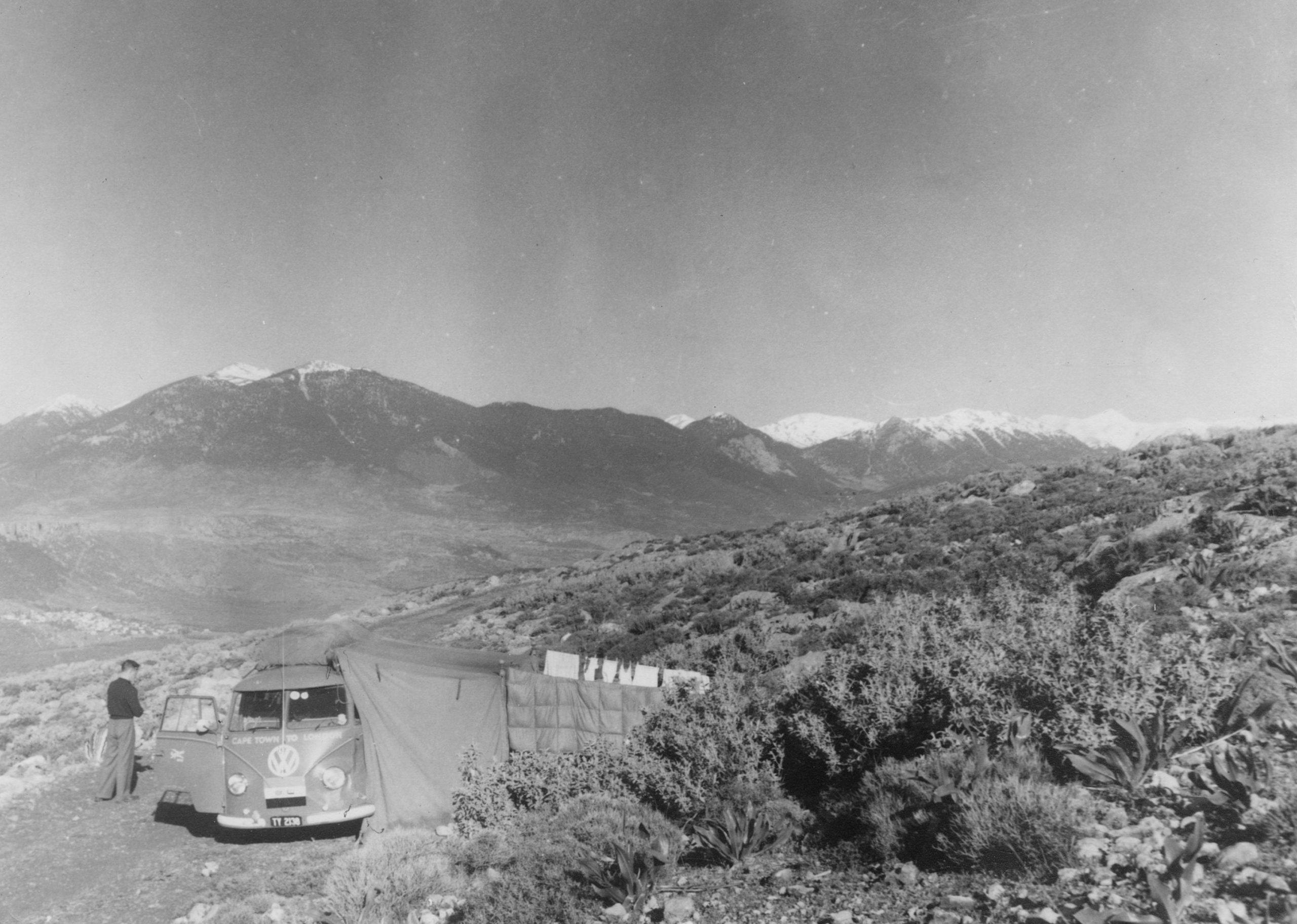 Home is a Journey - April 2 - Delphi camp spot 1