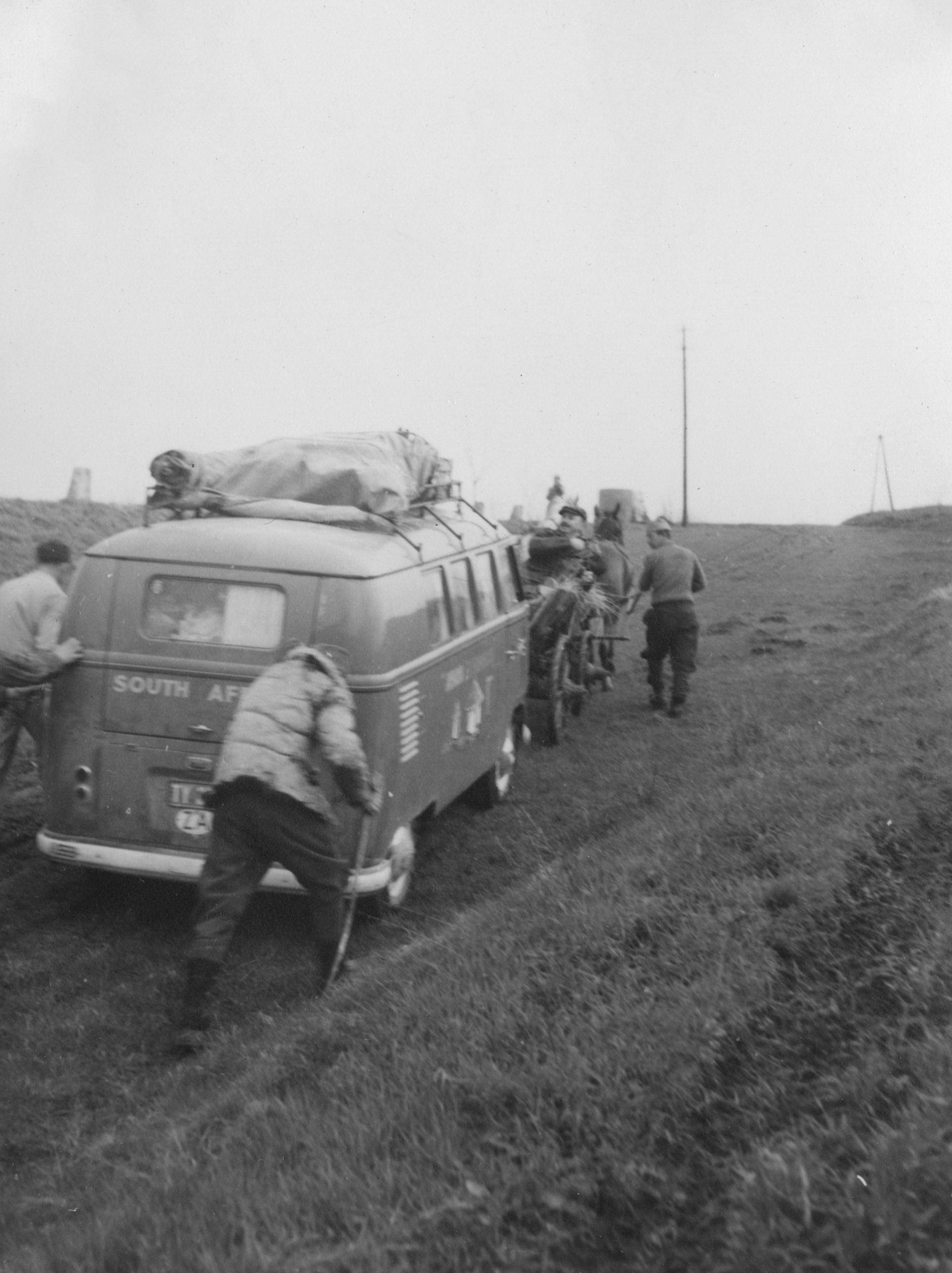 Home is a Journey - April 8 - Yugoslav Kombi pulled up the hill