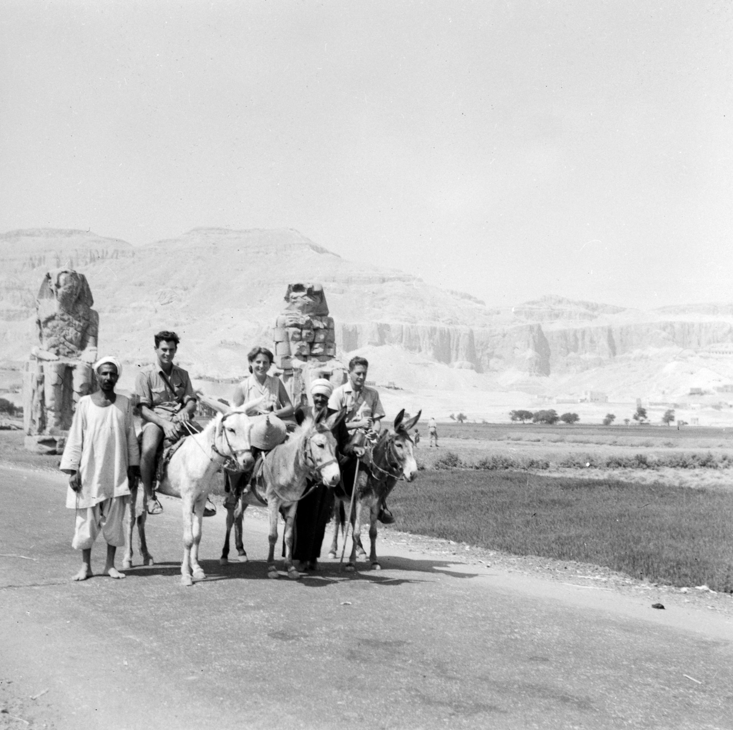 Home is a Journey - March 2 - donkey ride valley of the kings