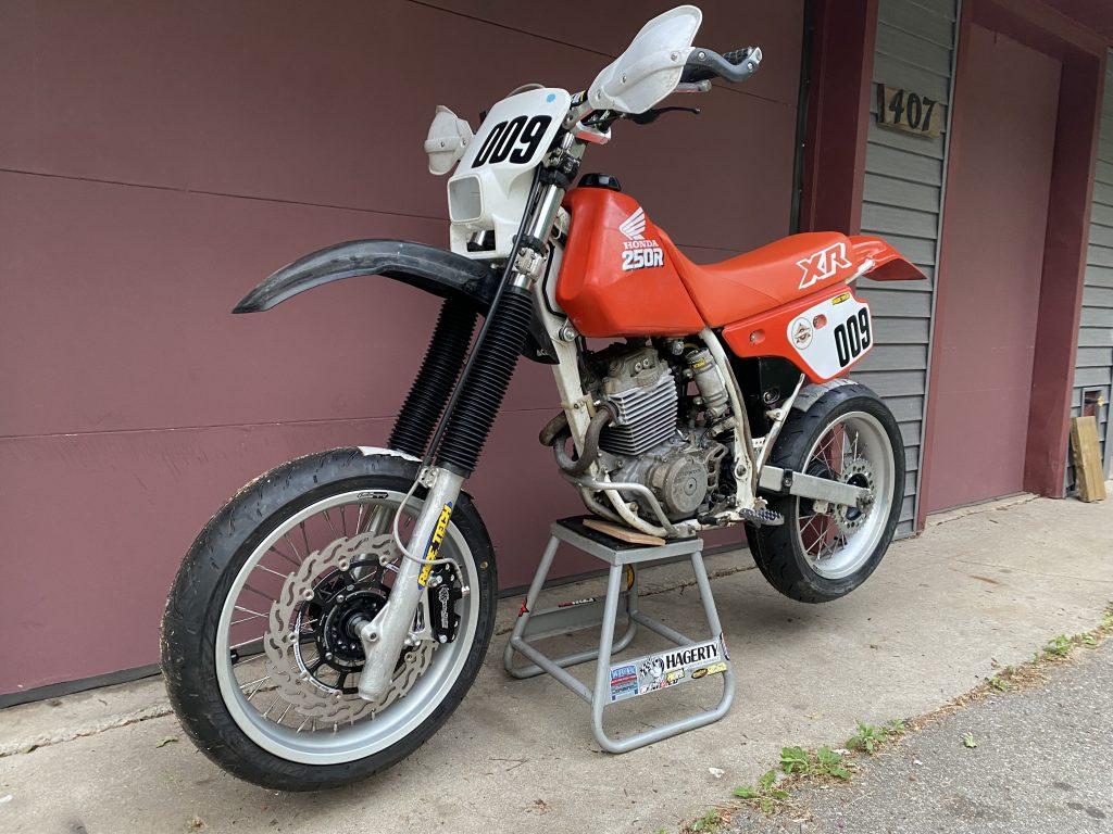 XR250R supermoto