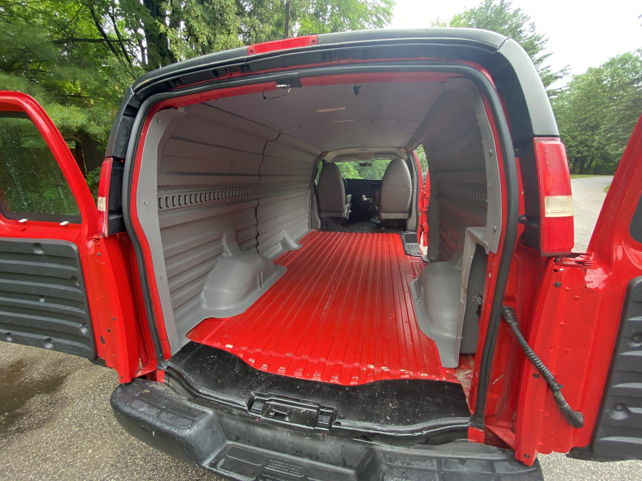 Chevrolet Express interior 2