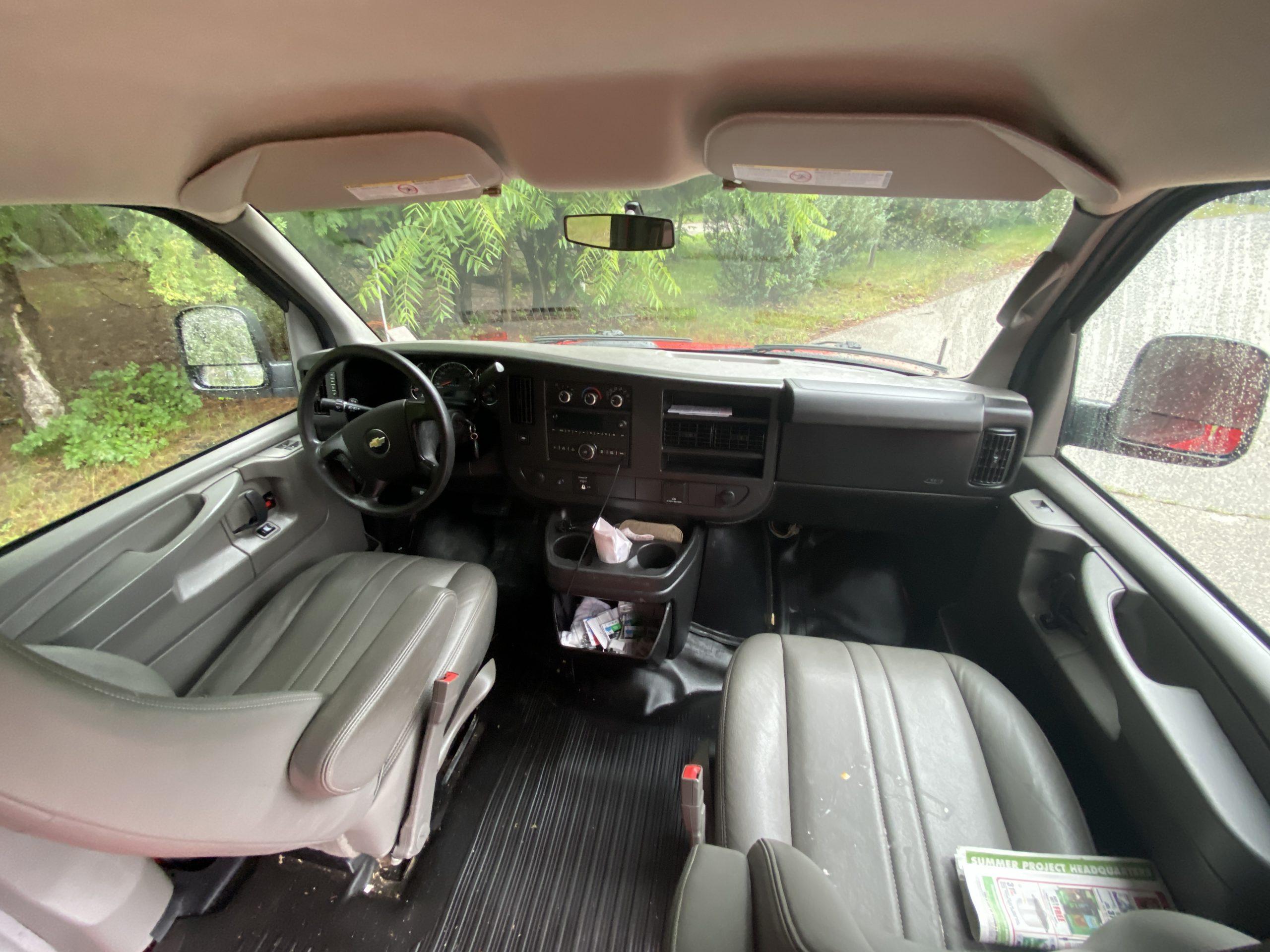 Chevrolet Express interior