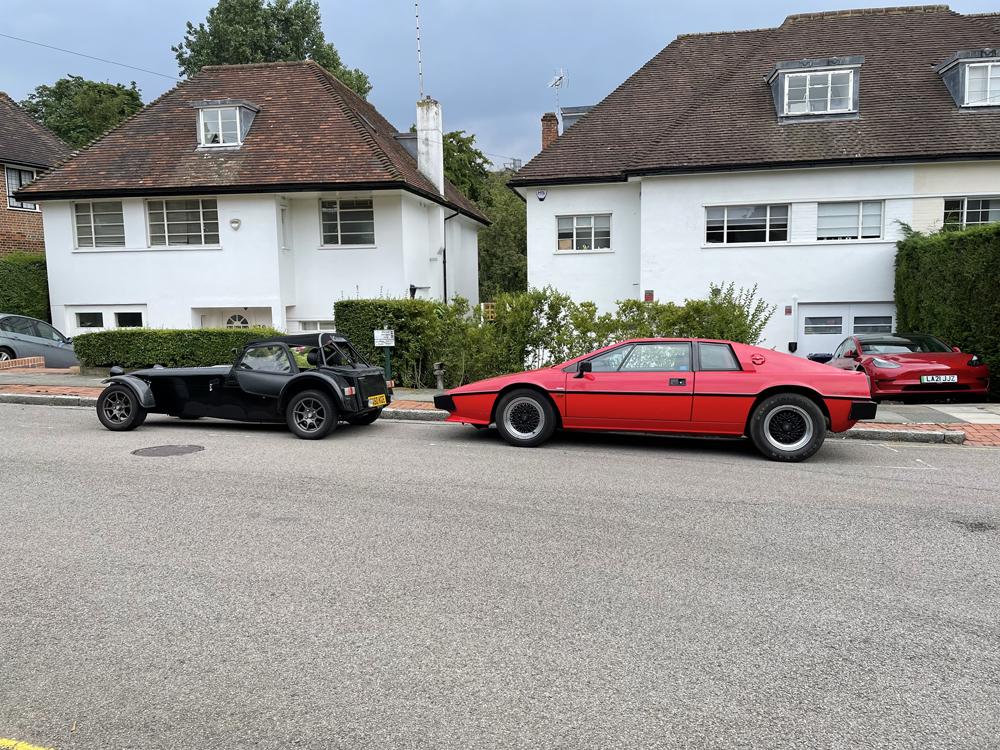 Lotus Esprit and Caterham