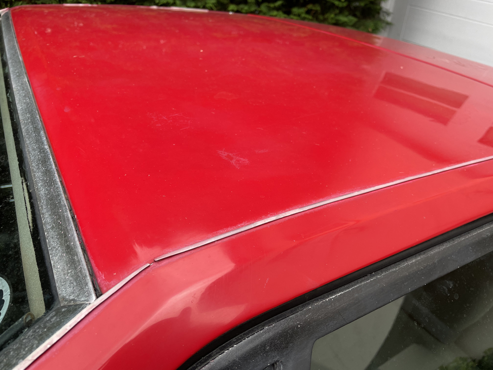 Lotus Esprit S3 roof