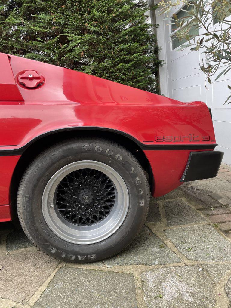 Lotus Esprit S3 rear