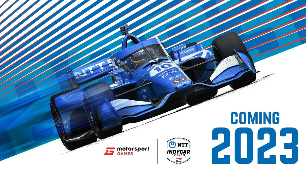 IndyCar/Motorsport Games announcement