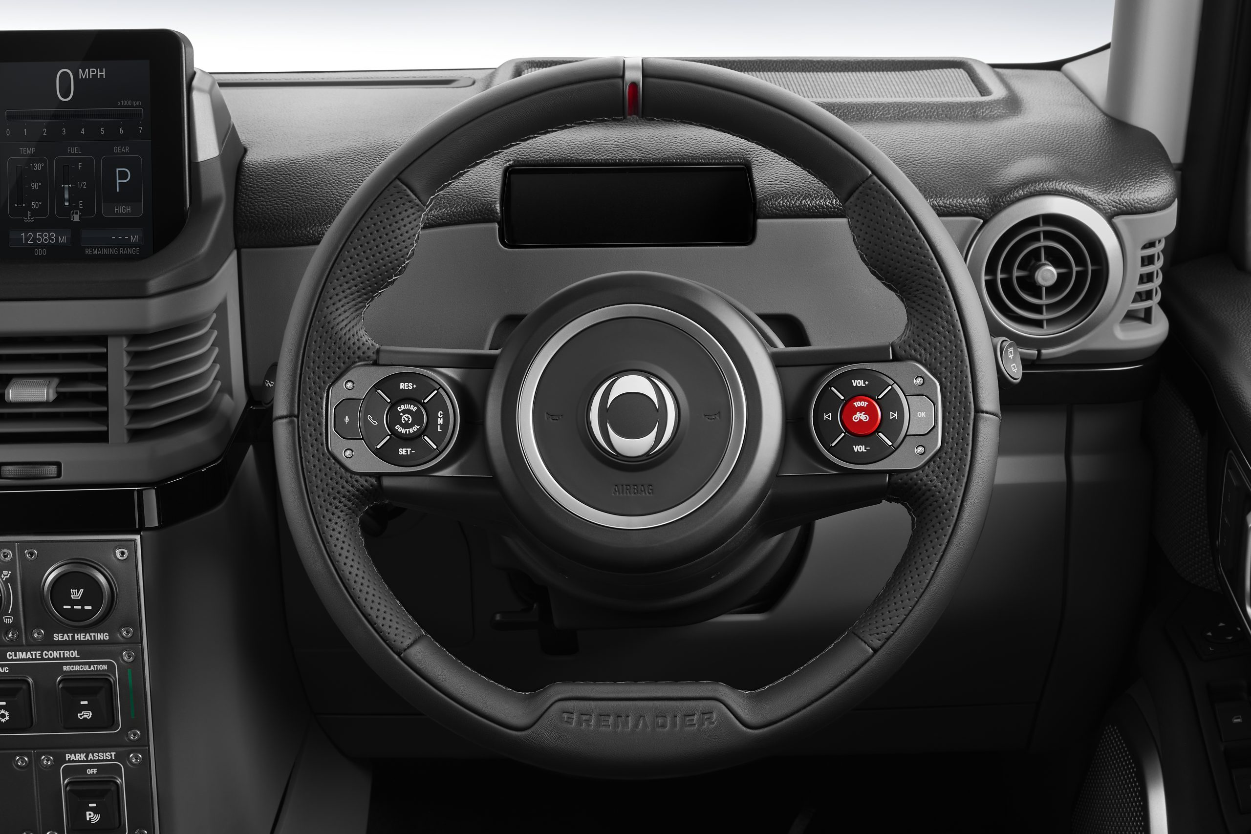 Ineos Grenadier interior wheel