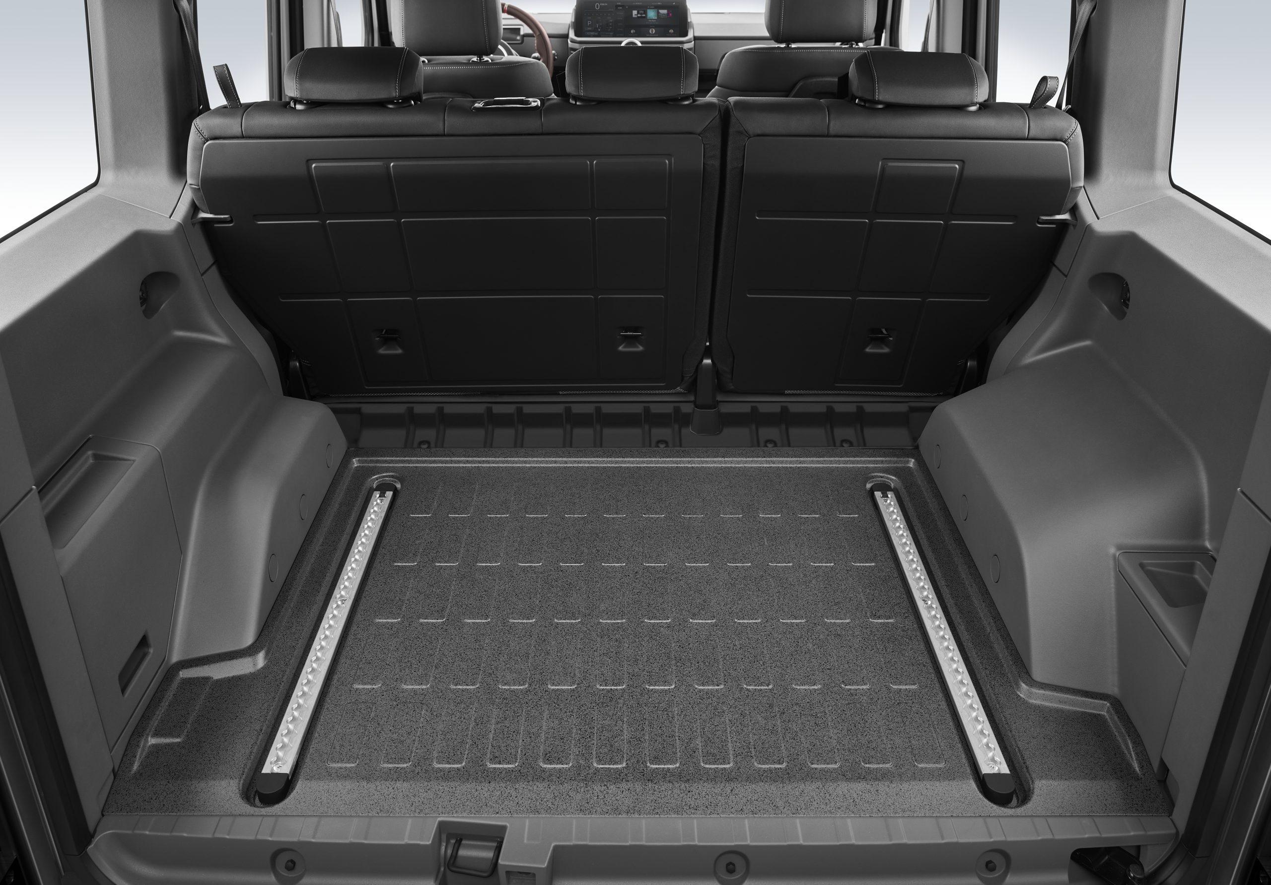 Ineos Grenadier interior rear cargo