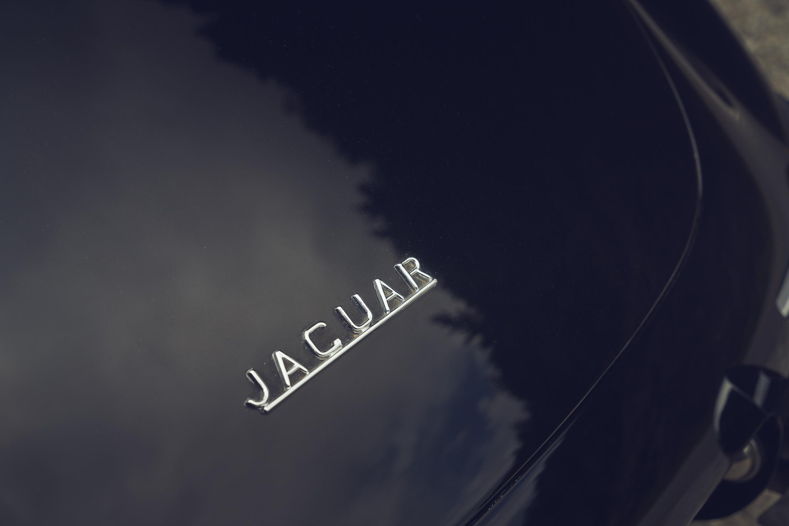 Jaguar E-Type rear badging letters