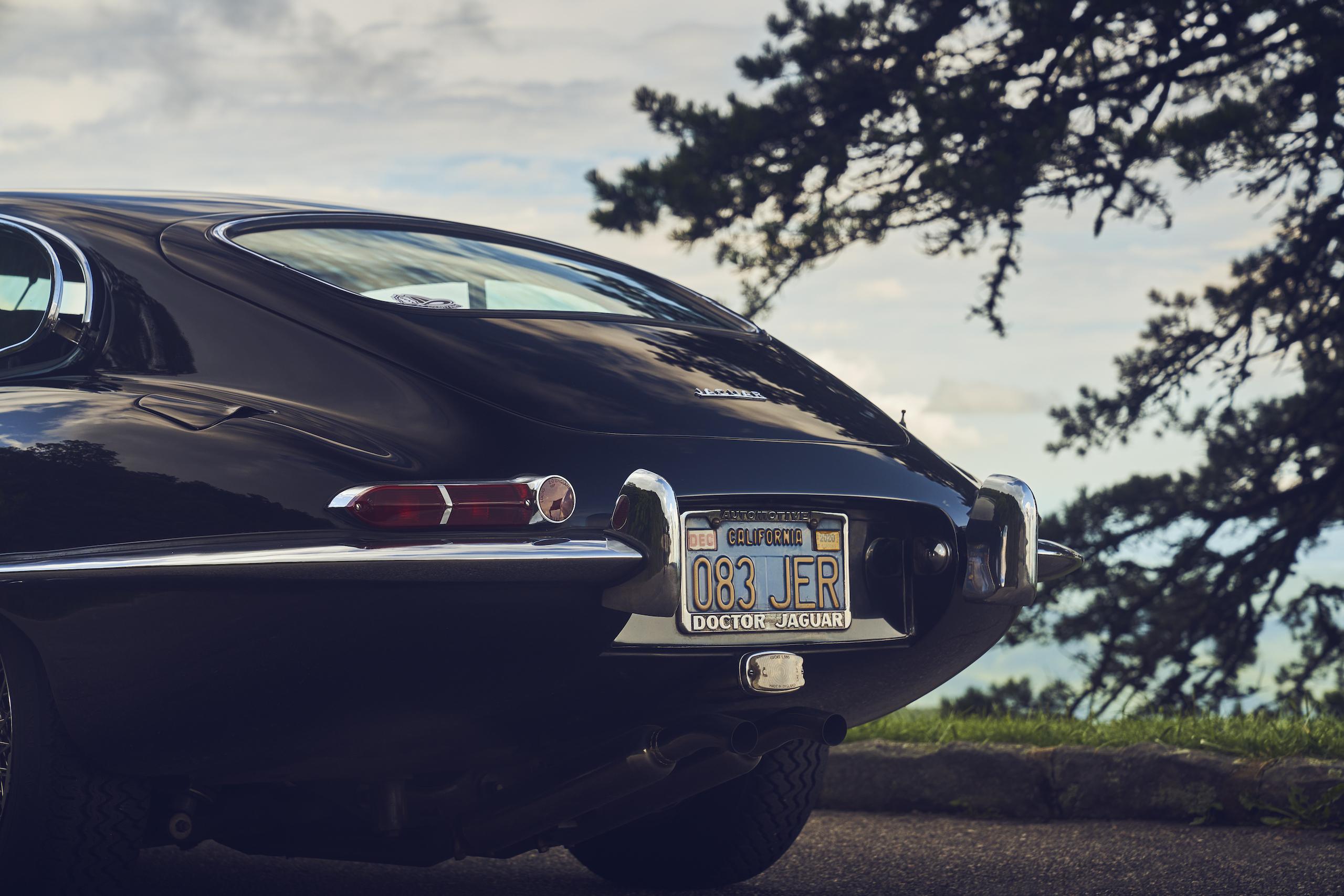 Jaguar E-Type rear end