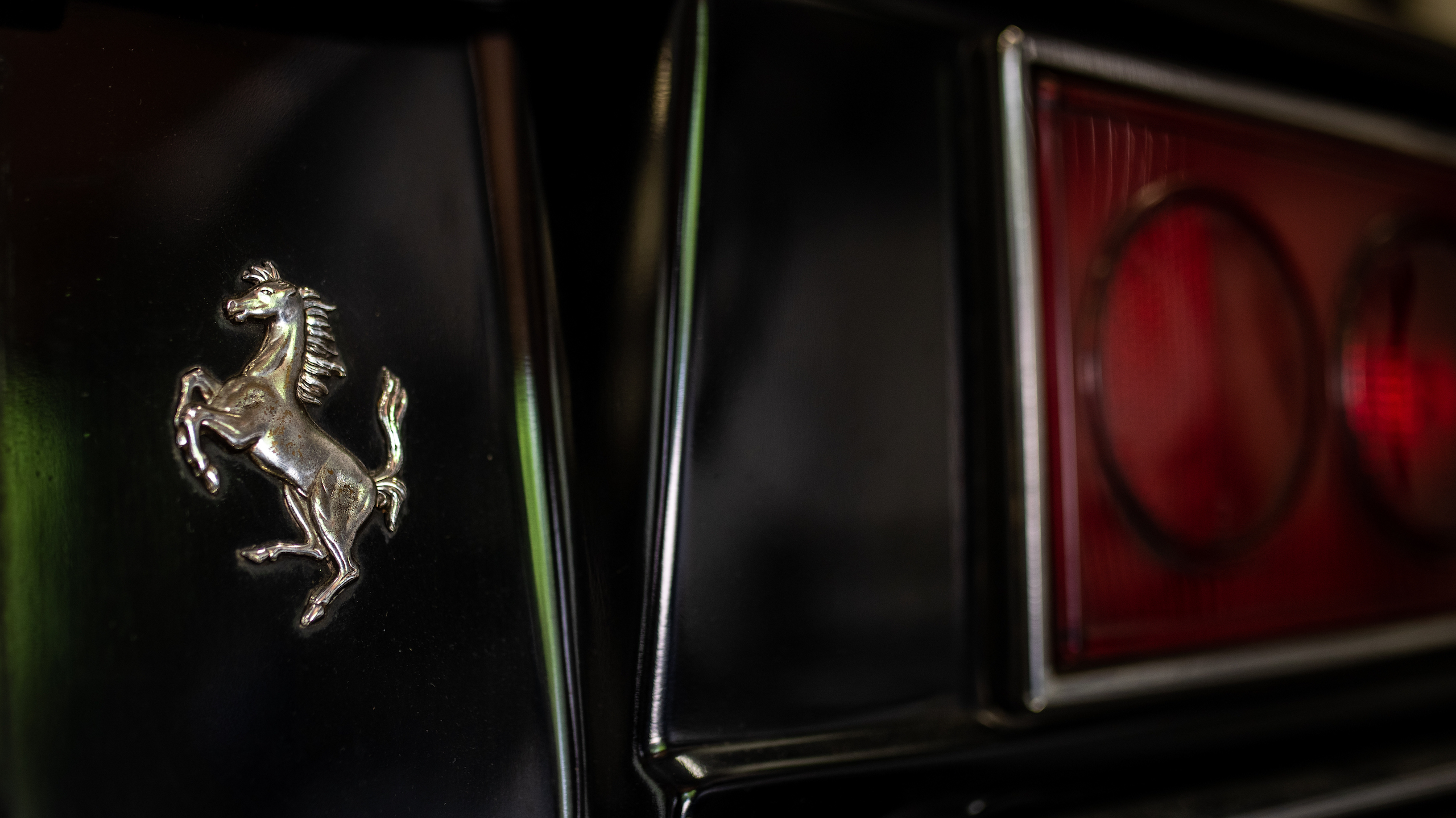 Ferrari Dino badge