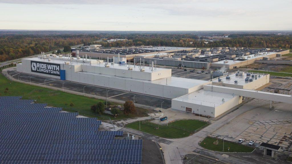 Lordstown Motors factory aerial
