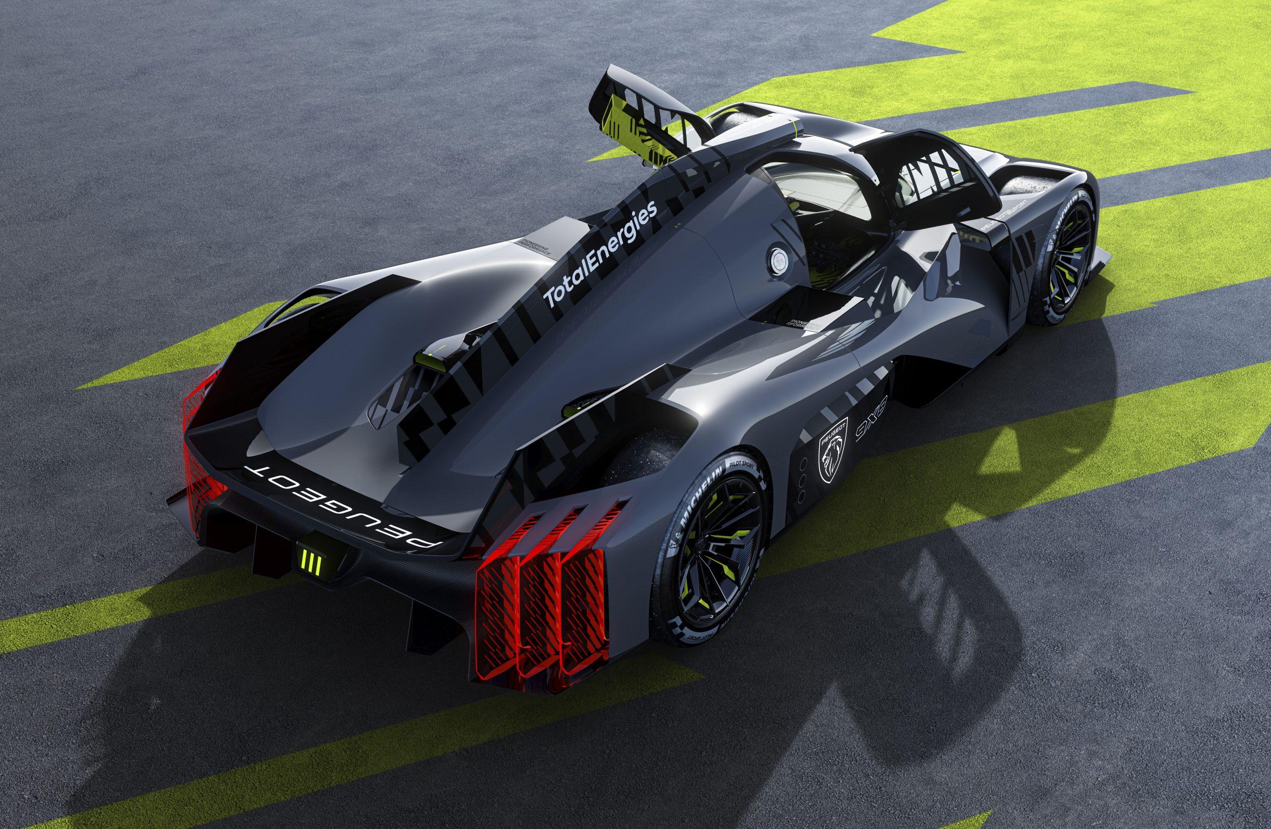 Peugeot Le Mans Hypercar LMH 9X8 WEC entry revealed