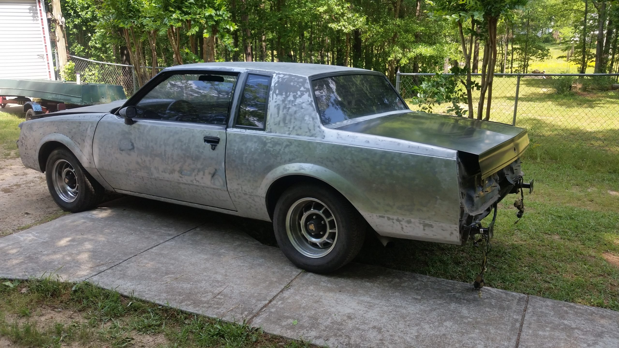 1987 Buick Grand National pre restoration