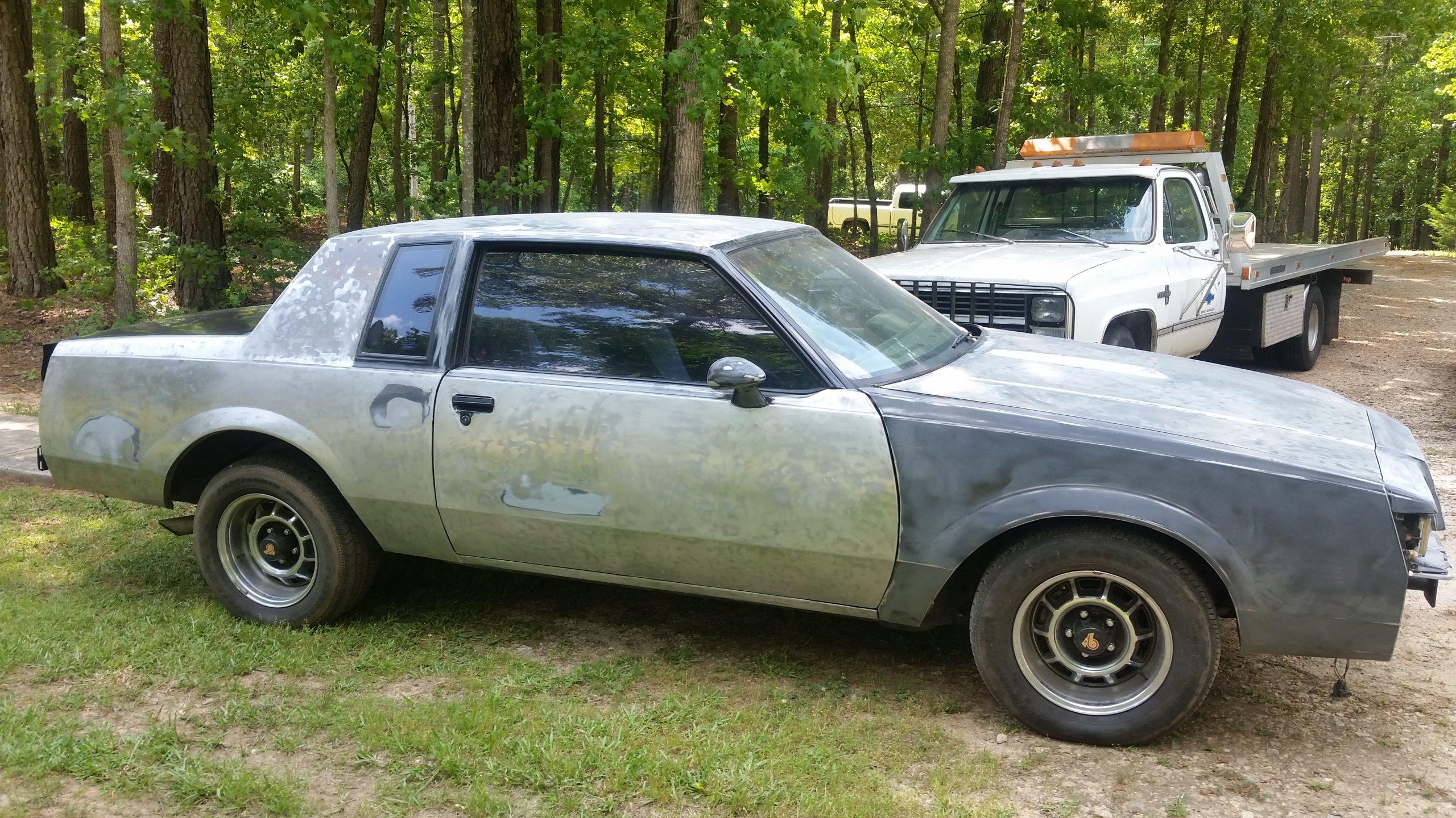 1987 Buick Grand National bare metal