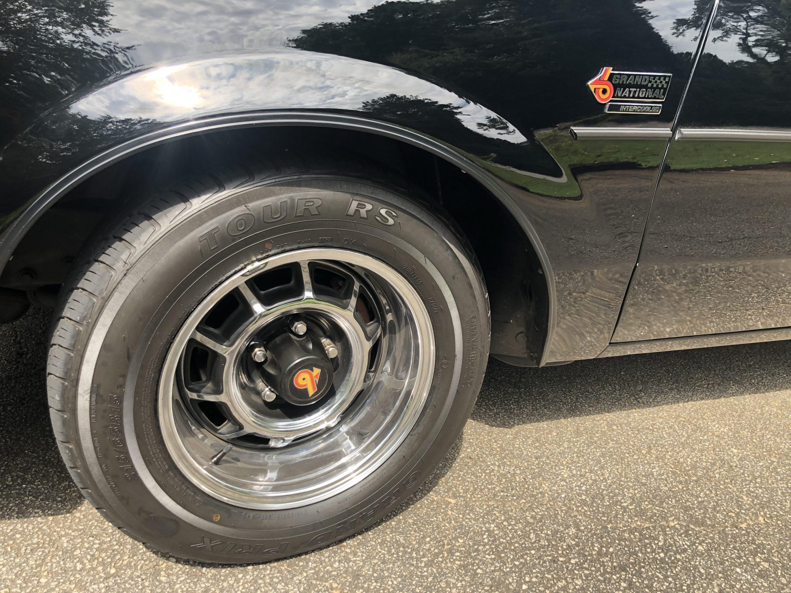 1987 Buick Grand National wheel tire
