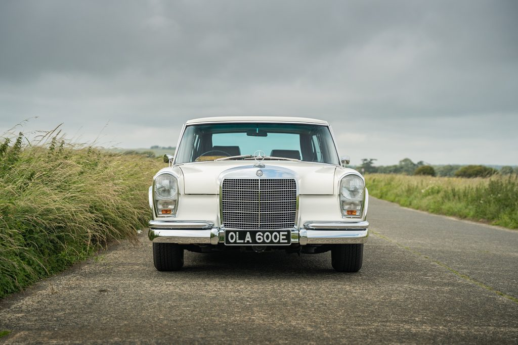 George Harrison Mercedes-Benz 600 front