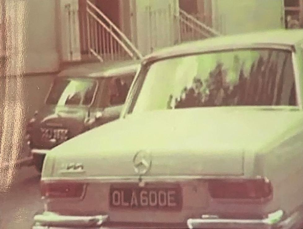 George Harrison Mercedes-Benz 600 historical