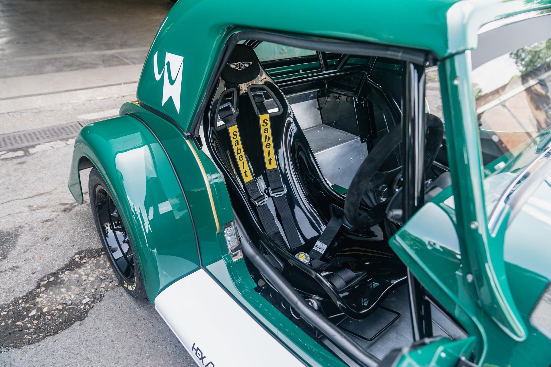 Morgan Plus Four racer seat