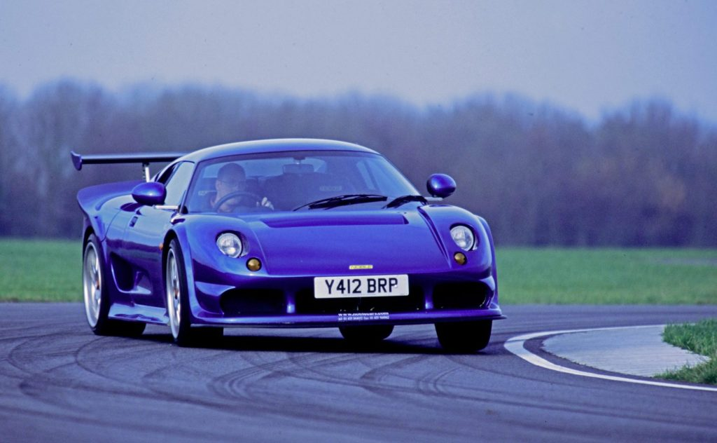 Noble M12 track action