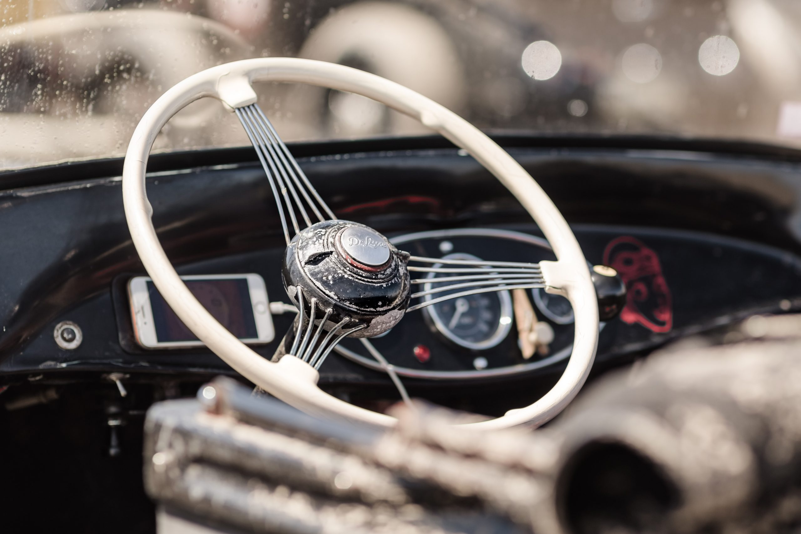 Pendine Sands hot rod wheel detail