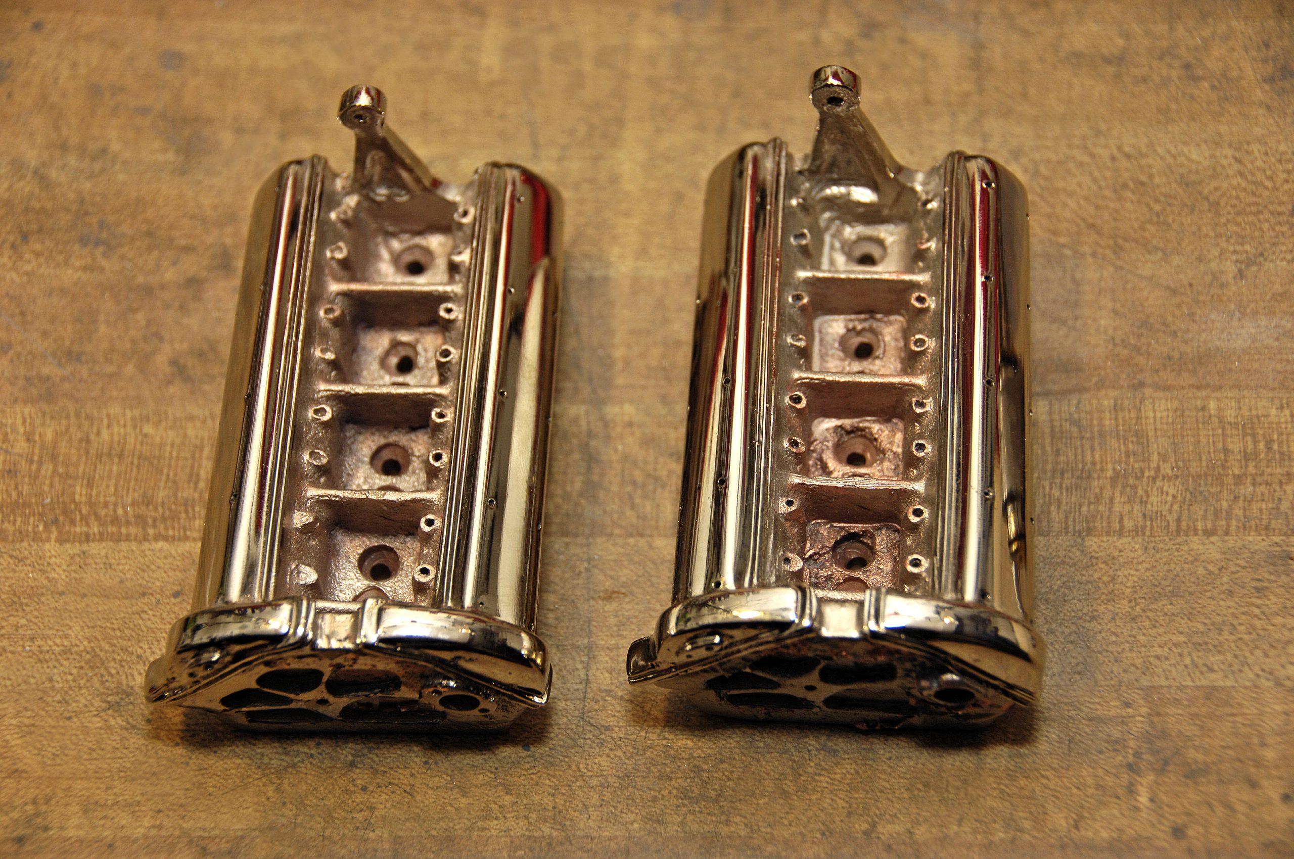 die cast model engine head