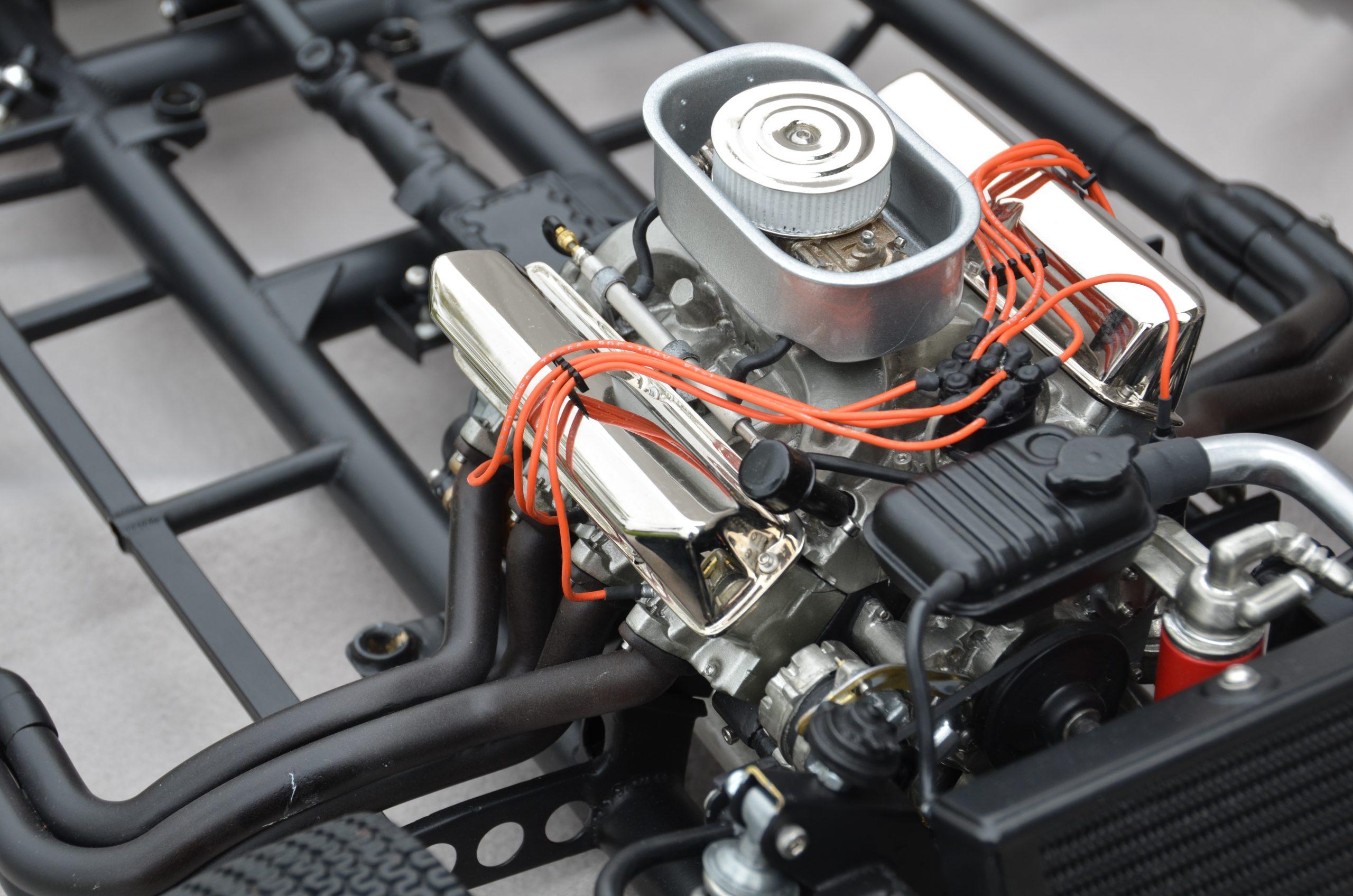 Essex Cobra scale model engine