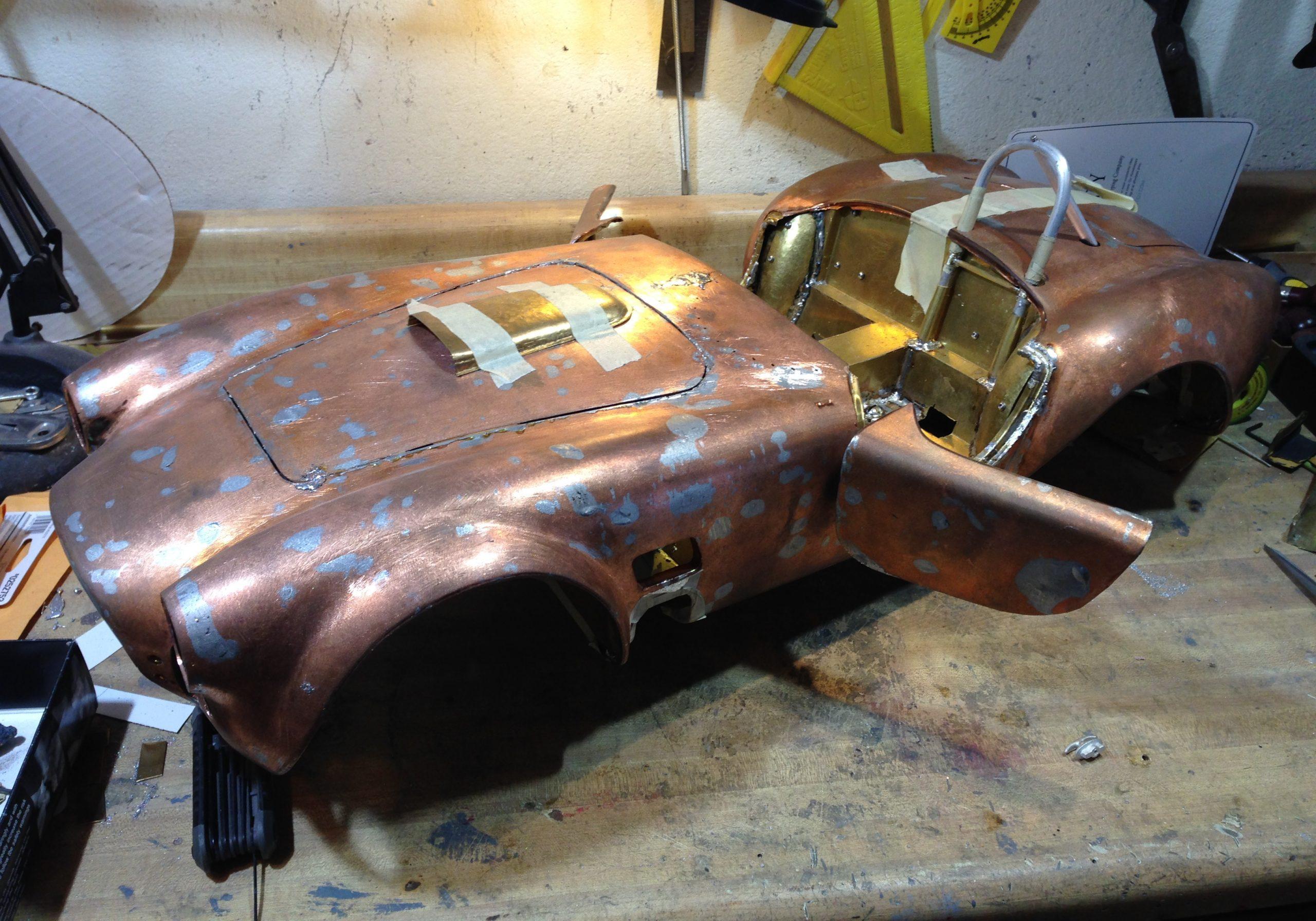 Essex Cobra scale model copper body