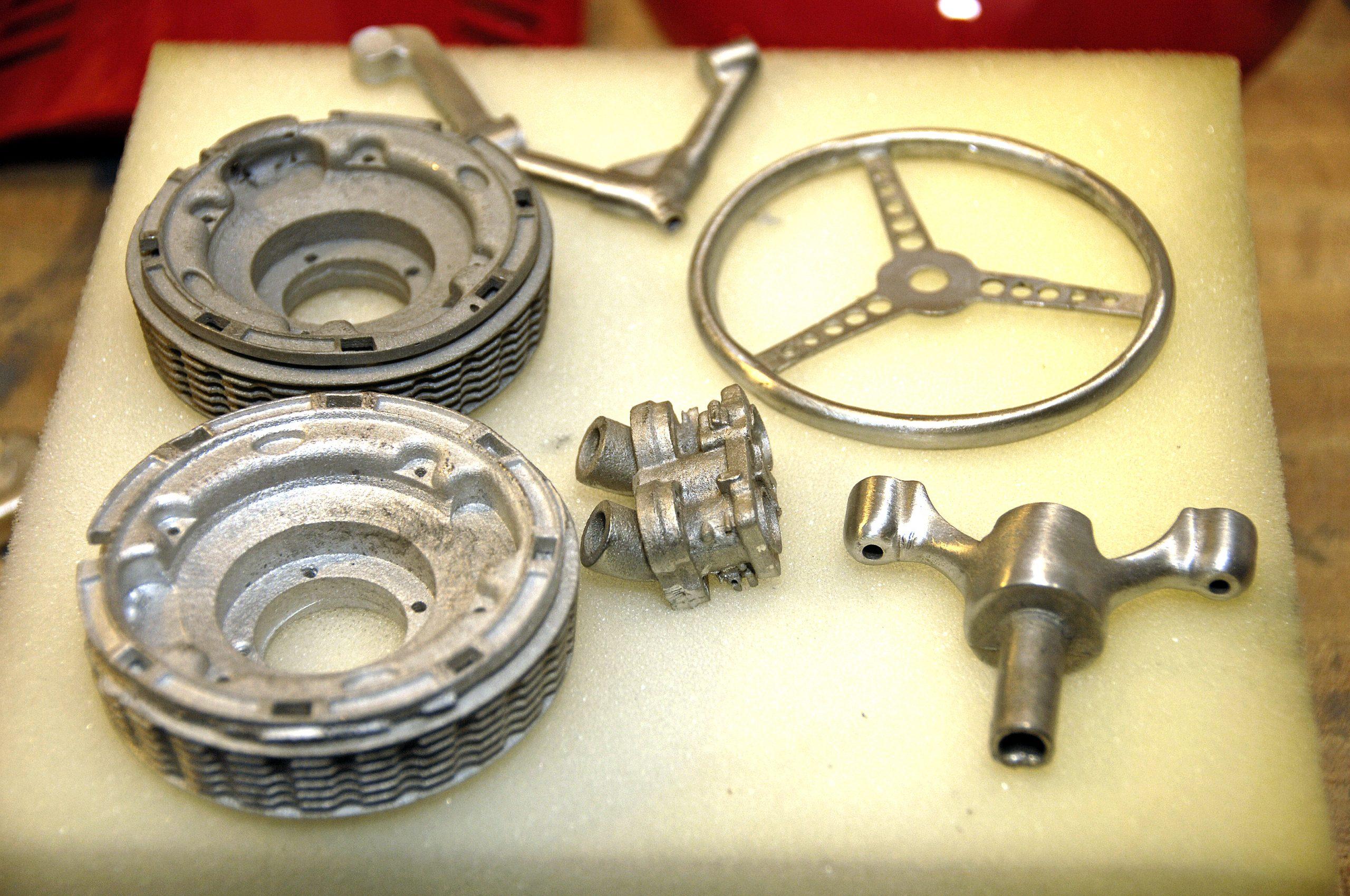 ferrari scale model interior parts