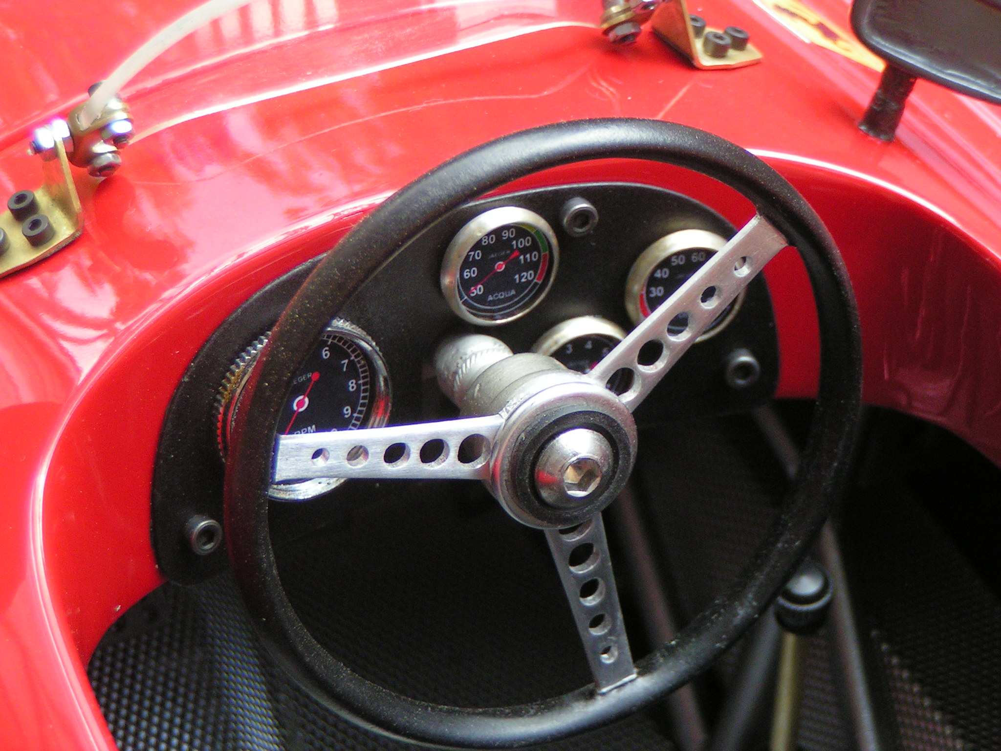 ferrari scale model cockpit