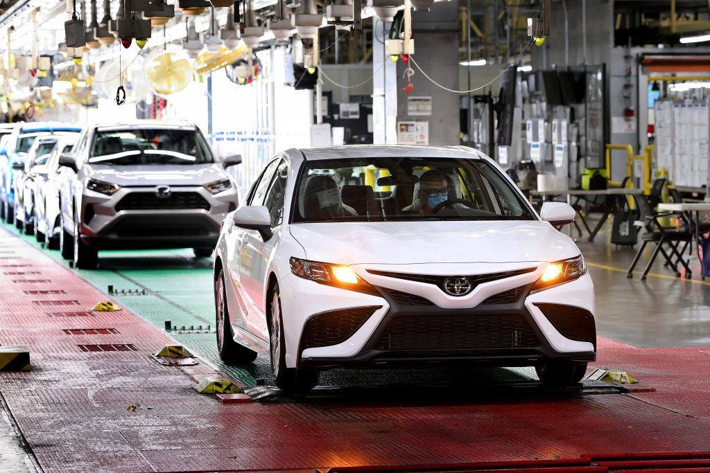 Georgetown KY Toyota Plant Camry