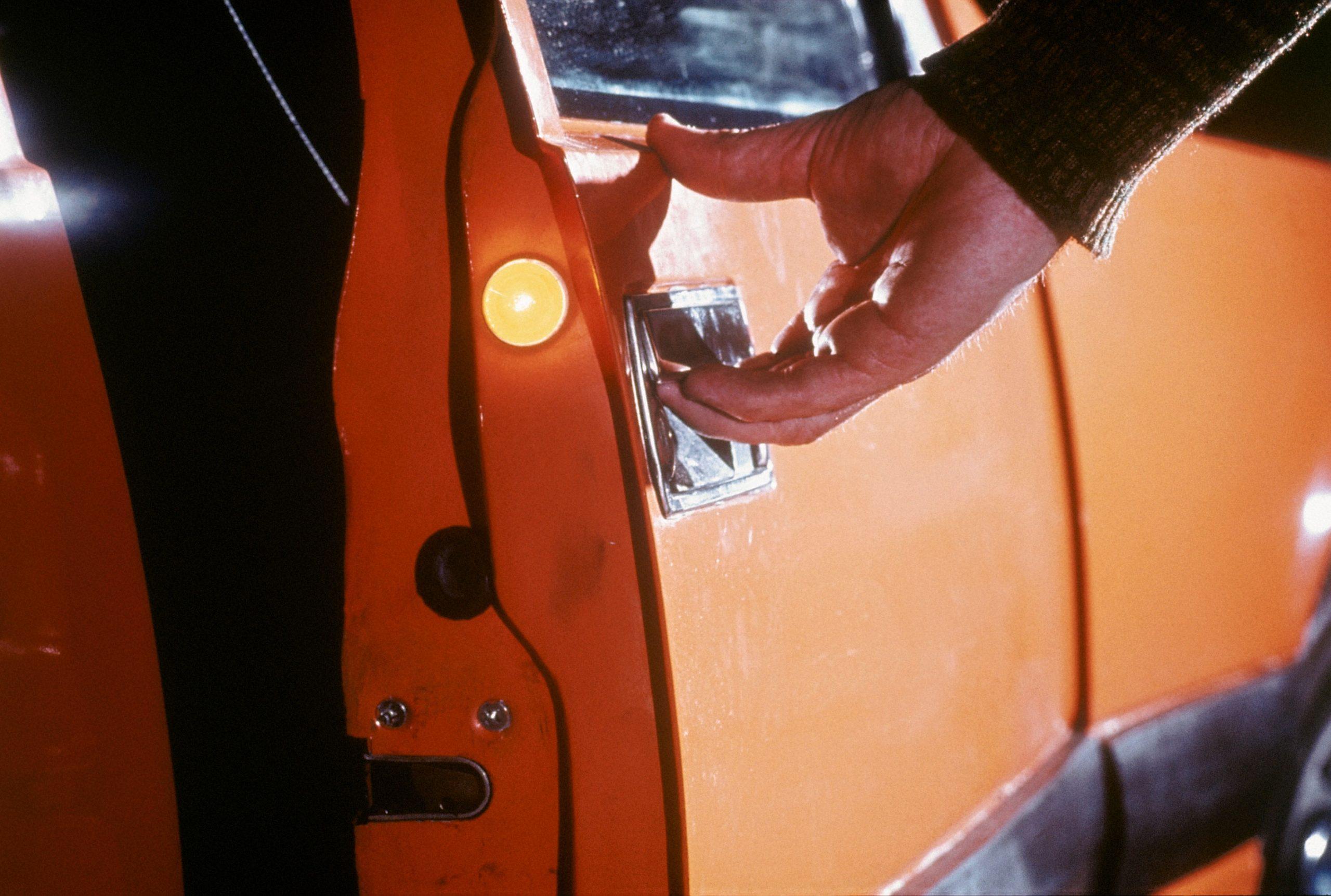safety equipment door handle