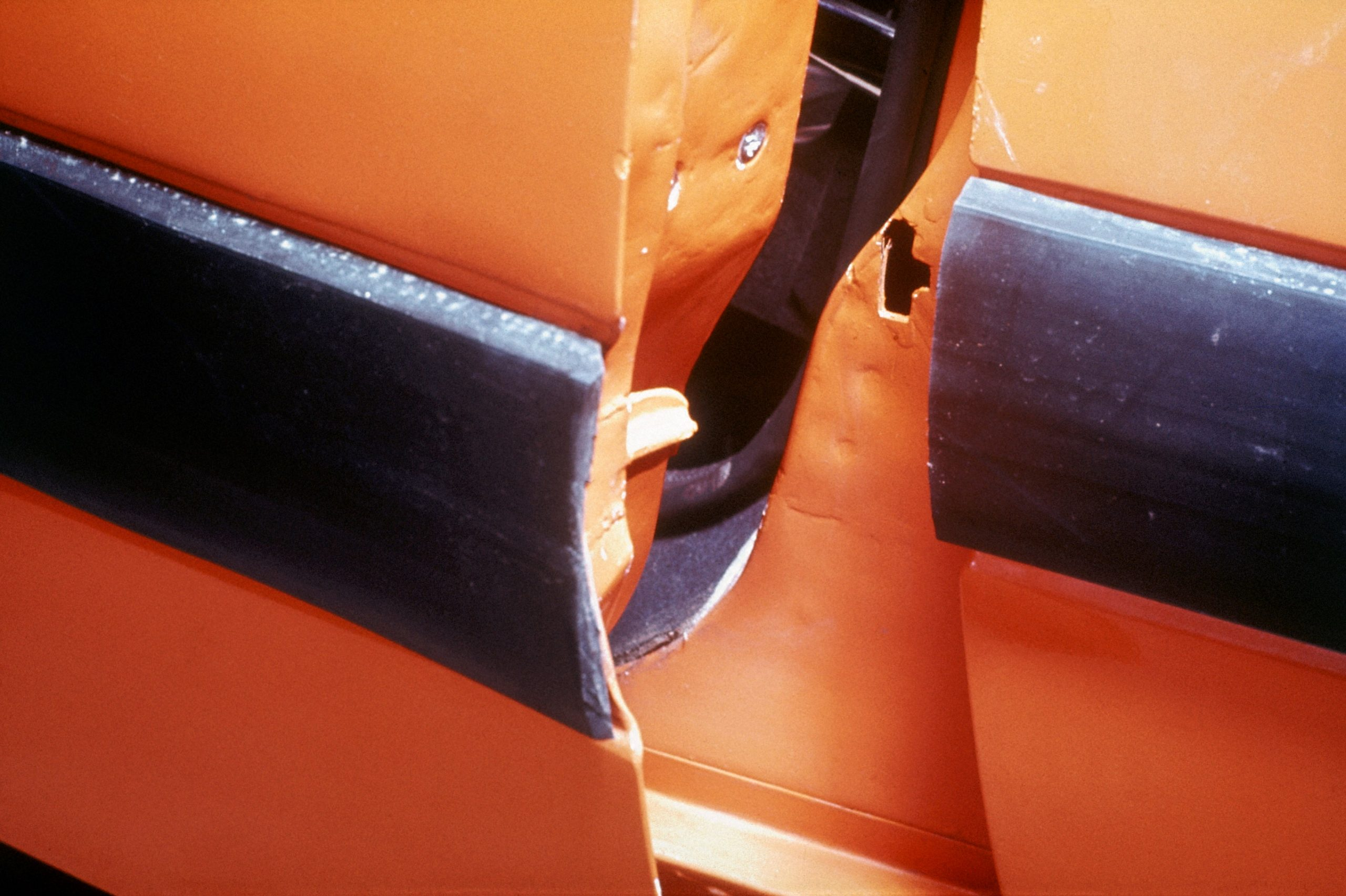 safety equipment door sill notch