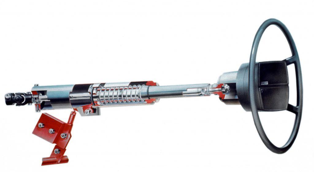 safety equipment steering column
