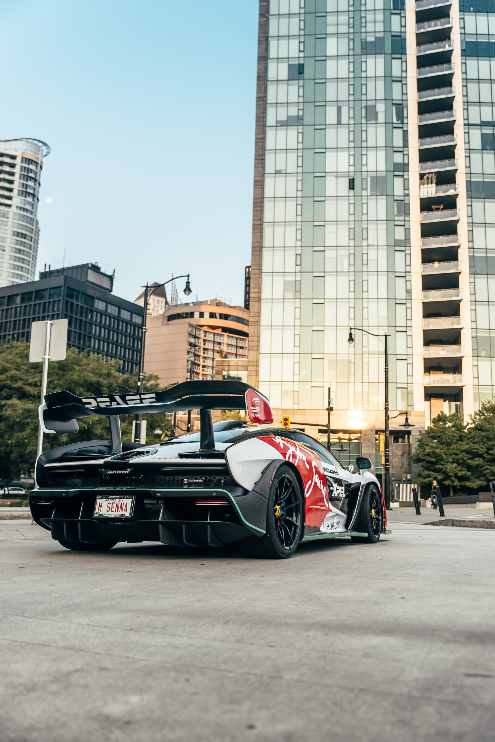 urban vancouver exotic car vertical