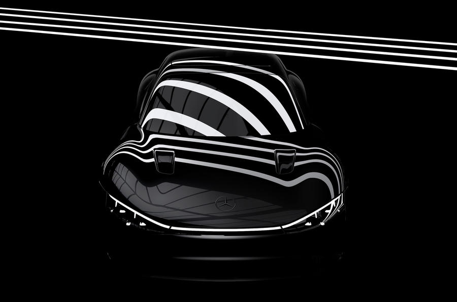Mercedes-Benz EQXX Vision concept teaser