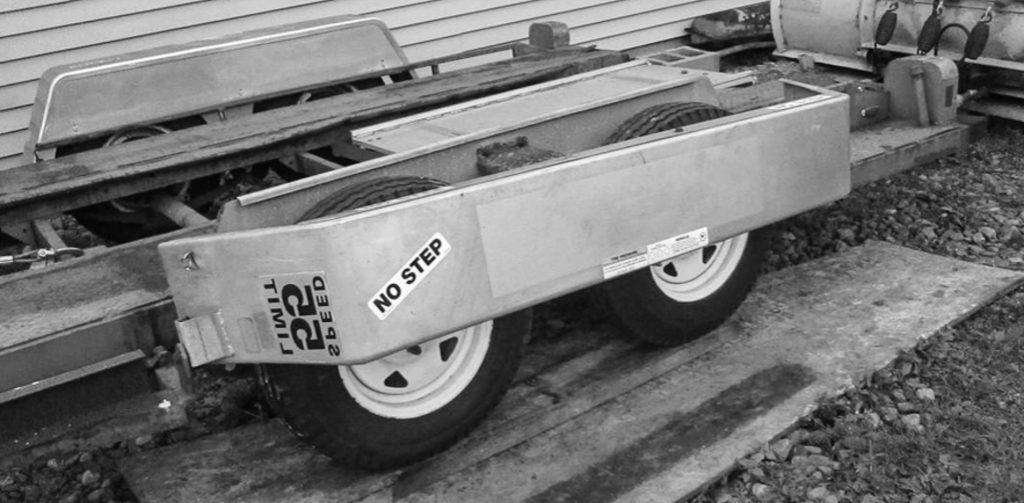 trailer no side step fenders