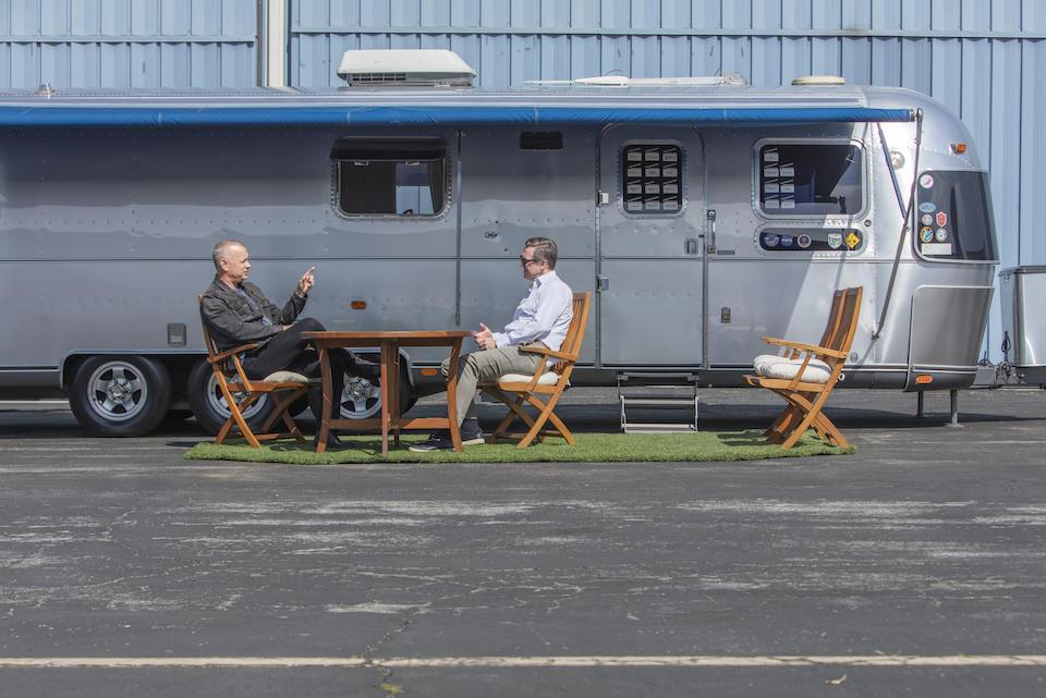Tom Hanks Airstream