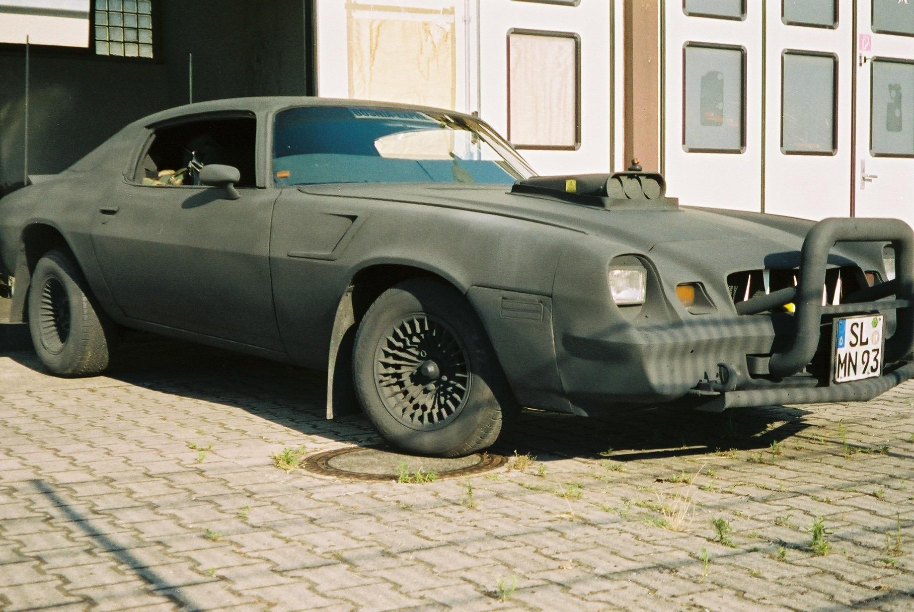 1979 Chevrolet War Camaro front three-quarter