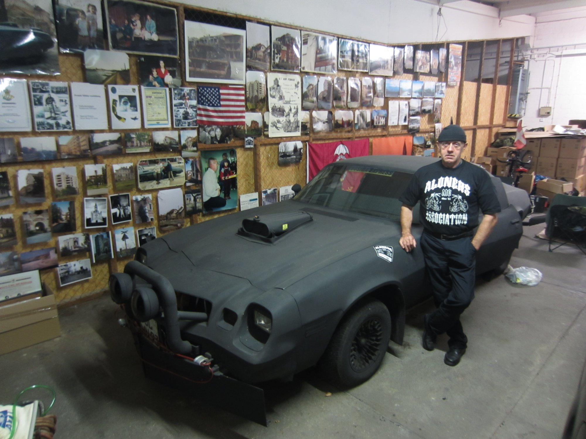 1979 Chevrolet War Camaro and owner