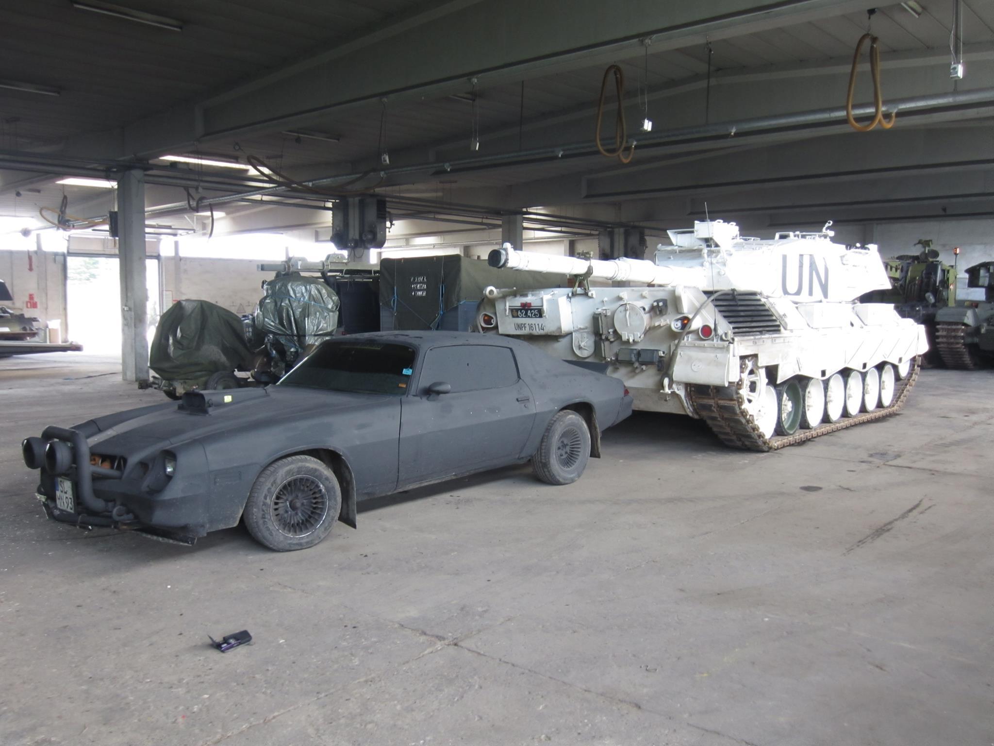 1979 Chevrolet War Camaro front three-quarter tank