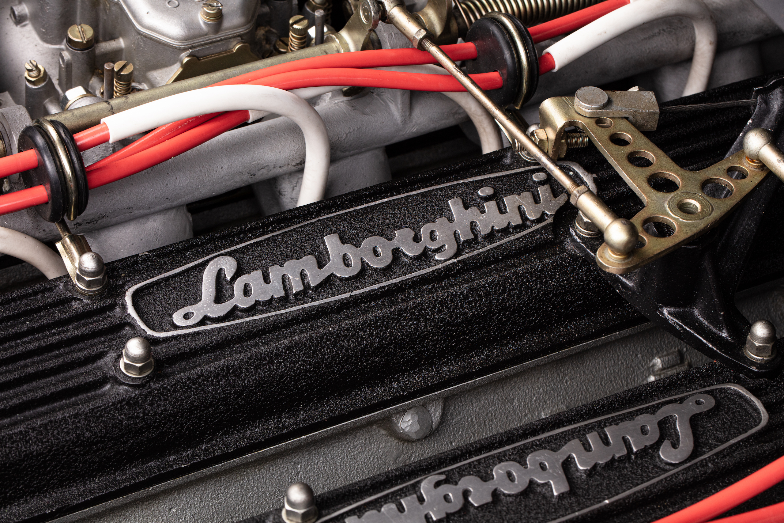Countach Engine detail