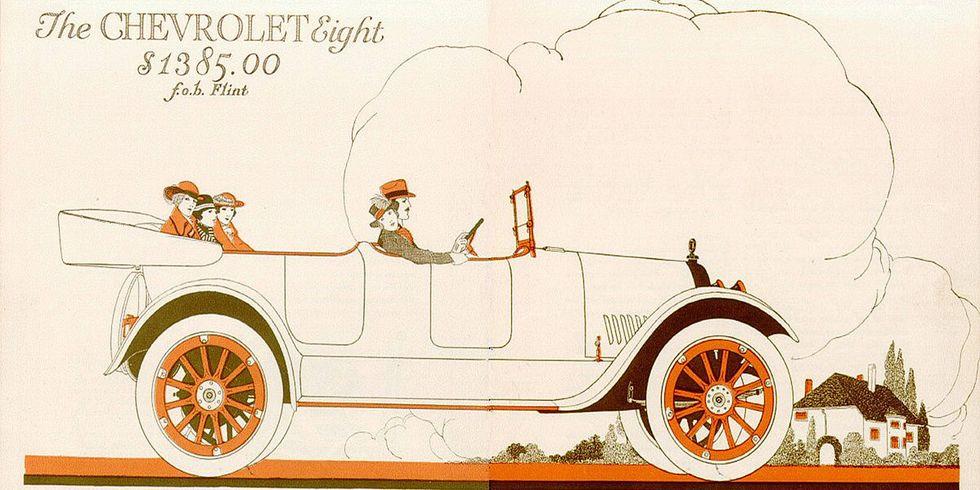 1917 Chevrolet Series D