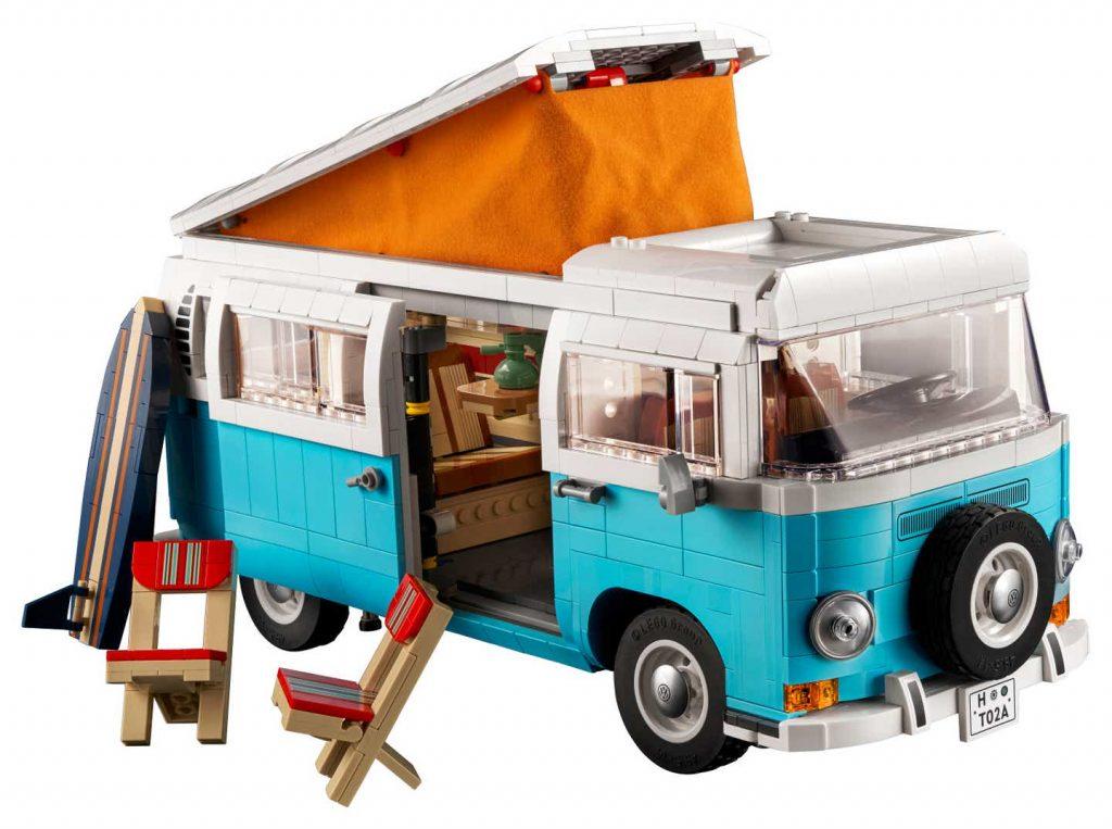 Lego T2 VW Camper van set