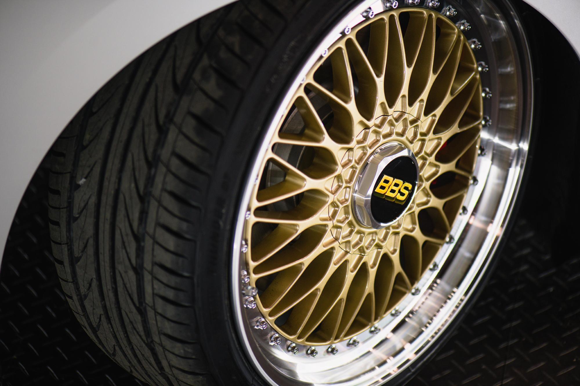 VW Golf GTi BBS concept wheel
